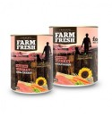Farm Fresh - TURKEY with CARROT 800 g 11 + 1 ZDARMA !!