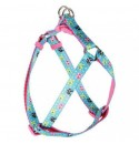 Postroj pro psy Candy adjustable harness Blue - 27 - 27cmx10mm
